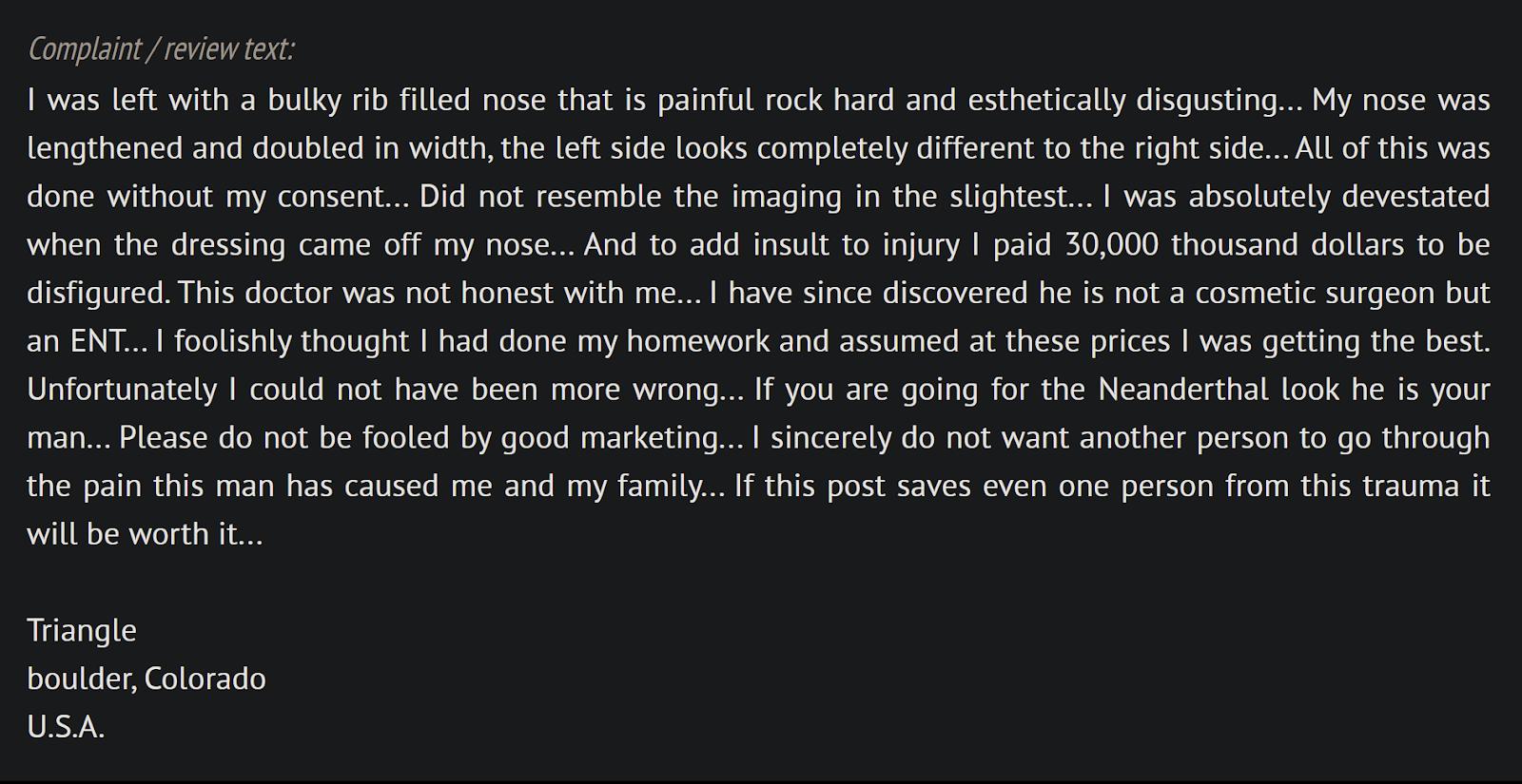 Dr. Dean Toriumi reviews