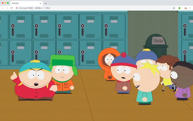 South Park HD New Tab Popular Themes