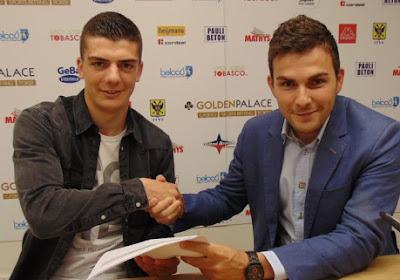 Iebe Swers verlengde zijn contract bij STVV met twee seizoenen en werd uitgeleend aan Lommel SK