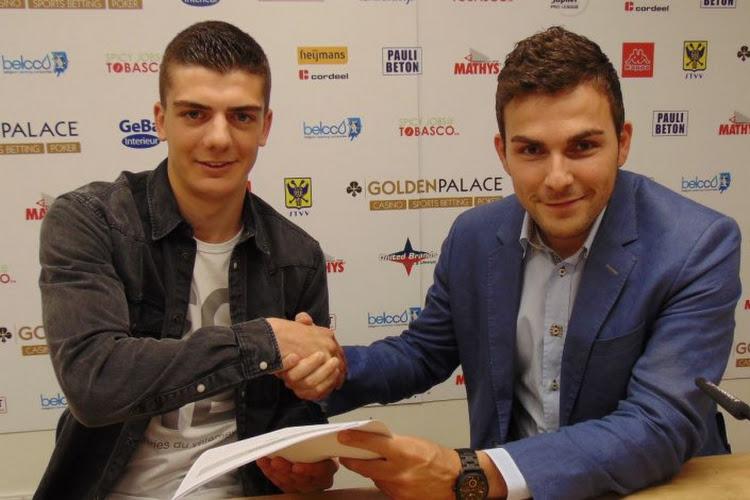 STVV verlengt contract talentvolle jongere en stuurt hem onmiddellijk naar Amateurreeks