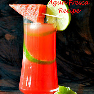 Watermelon Agua Fresca Recipe | Mexican Drink With Fruit | Summer Drink.