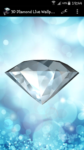 3D Diamond Live Wallpaper