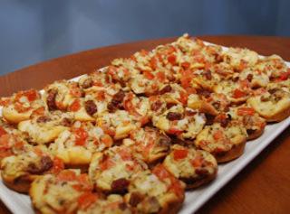 Bacon And Tomato Cups Recipe