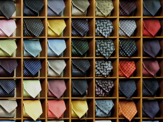 Cravatte di lusso di renzo brazzolotto