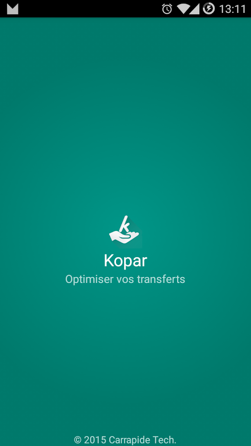 Kopar- screenshot