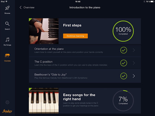 flowkey: Learn Piano 1.6.0 screenshots 14