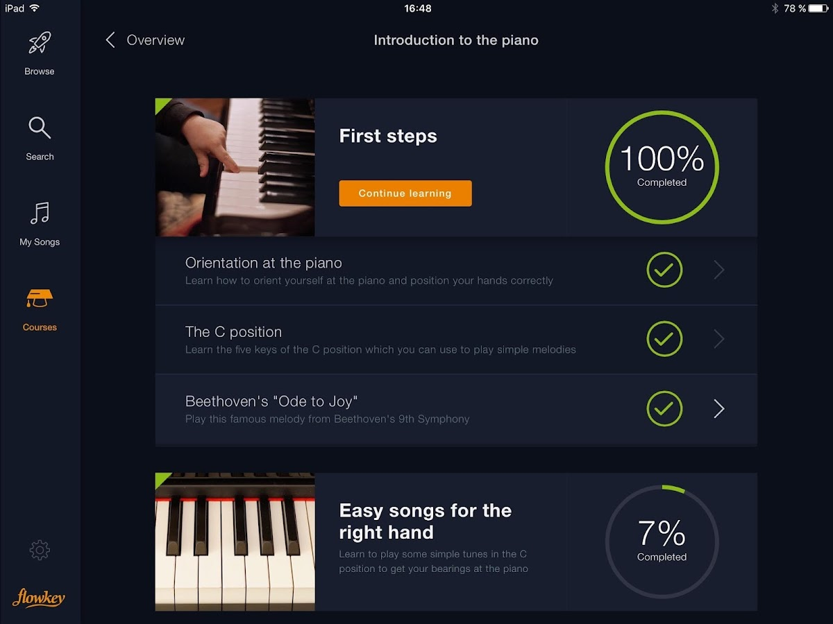 flowkey Review - Best Piano App for Learning Songs - YouTube