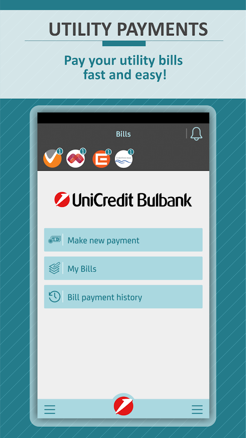 Bulbank mobile- screenshot