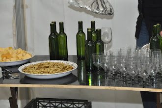 Photo: In this year the farm had the first substantial wineproduction since 1936. This evening it will be celebrated.