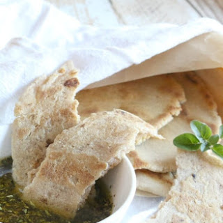 Gluten Free Flatbread with Dipping Oil Recipe