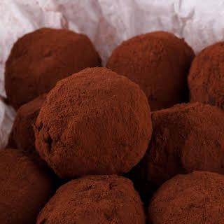 Chocolate-Walnut Rum Balls.