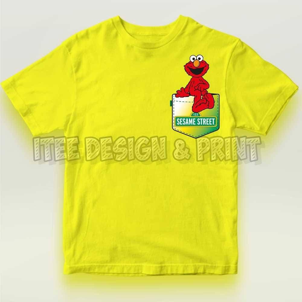 Pocket Elmo Sesame Street