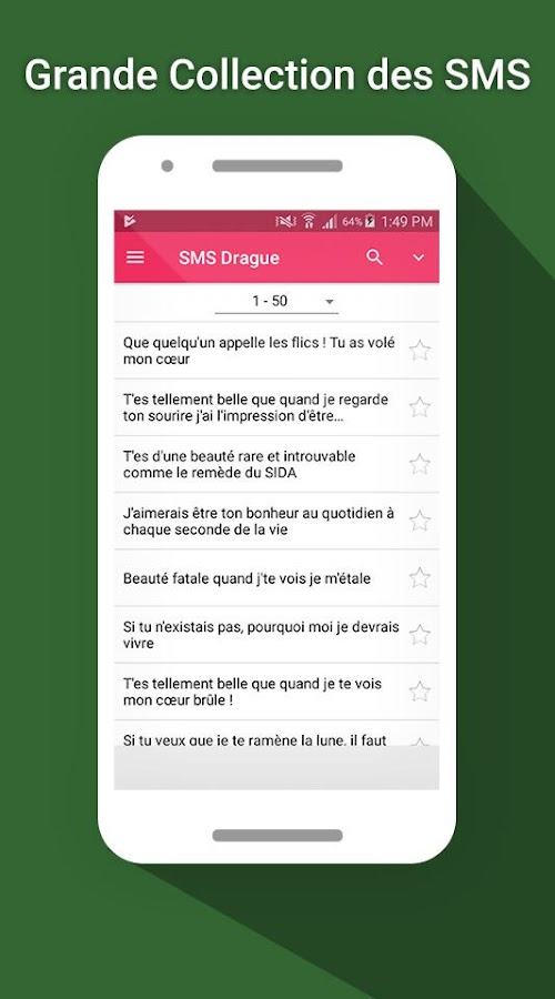 SMS Drague 2017- screenshot