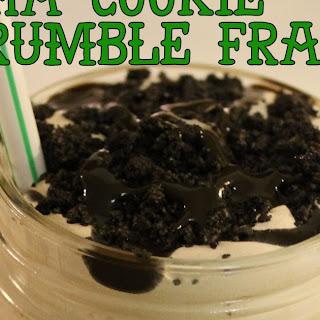 Mocha Cookie Crumble Frappe {Copycat}.
