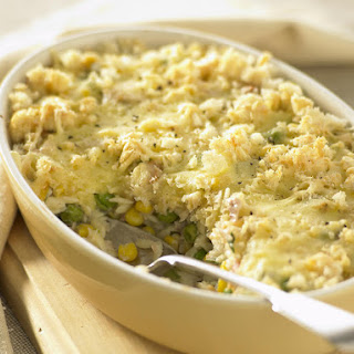 Tuna Mornay Casserole