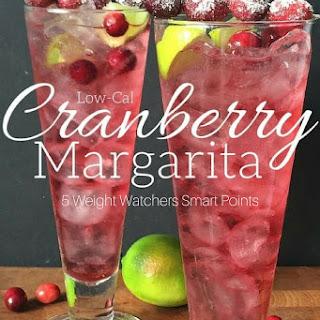 Low-Cal Cranberry Margarita.