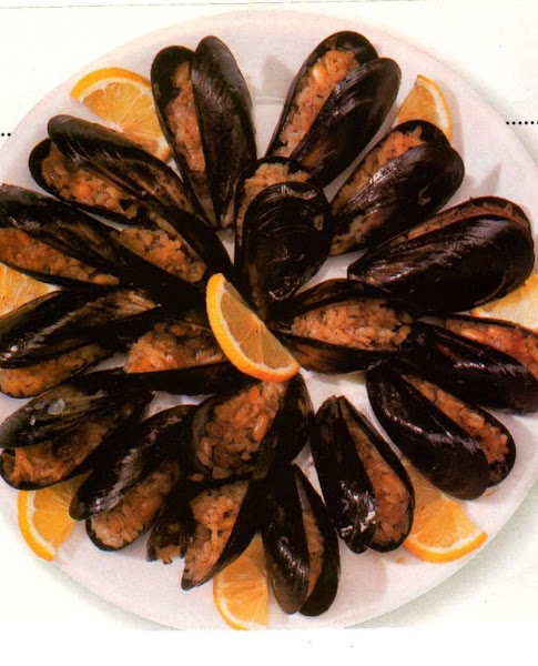 Stuffed Mussels With Rice Recipe