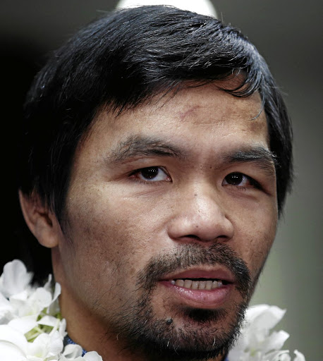 Manny Pacquiao. Picture: SUPPLIED