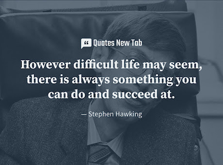 Quotes New Tab