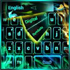 Neon Flame GO theme icon