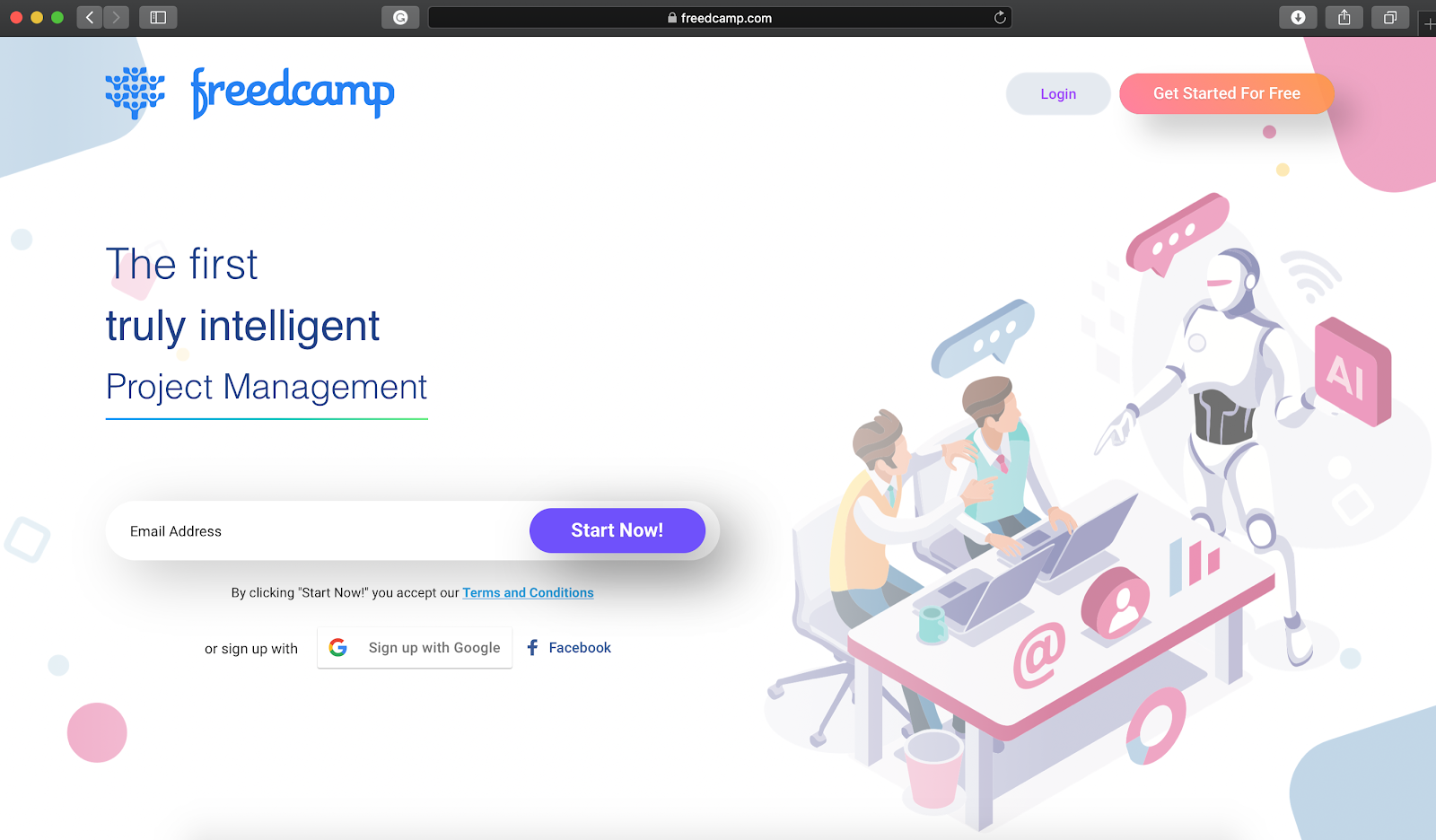 freedcamp app