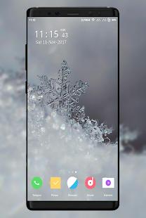 Snowflake Wallpaper - náhled