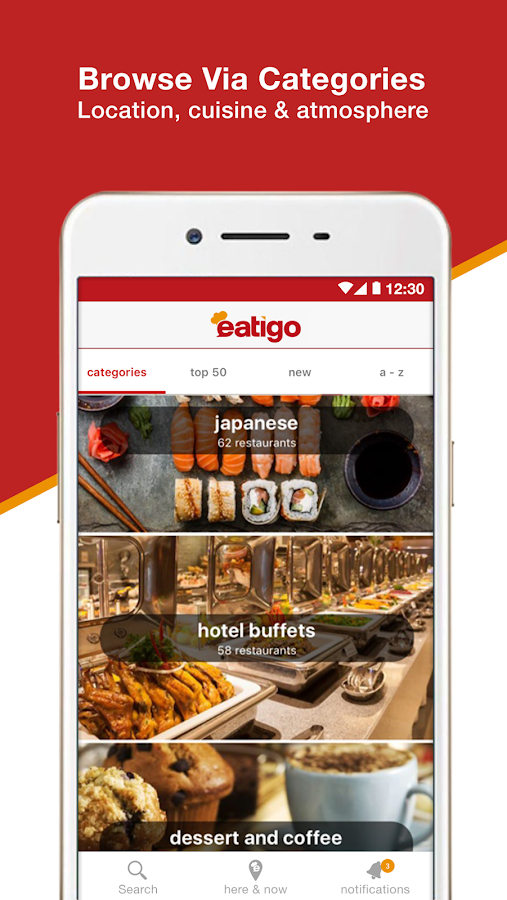 eatigo – discounted restaurant reservations- スクリーンショット