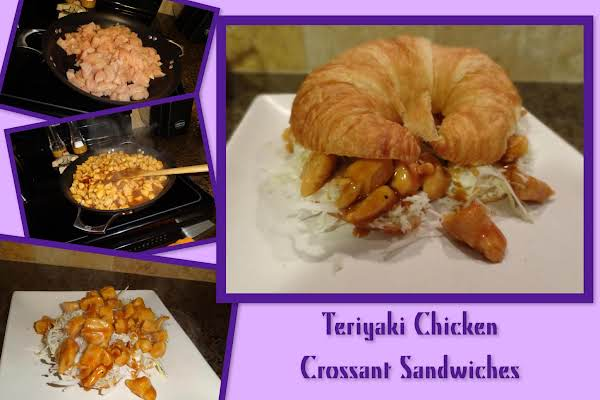Teriyaki Chicken Crossant Sandwiches