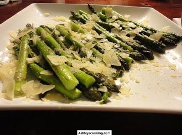 Parmesan Asparagus Recipe