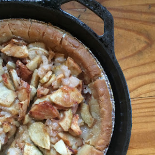 Gluten-Free, Sugar-Free Homemade Apple Pie.