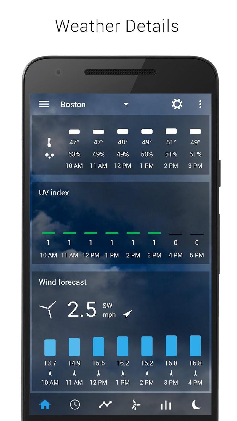 Digital clock & world weather Screenshot 3