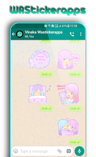 WAStickerApps: Girly Stickers for PC-Windows 7,8,10 and Mac apk screenshot 5