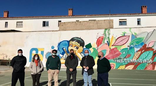 Casi 25.000 euros para obras de mejora en el IES Sierra Nevada en Fiñana