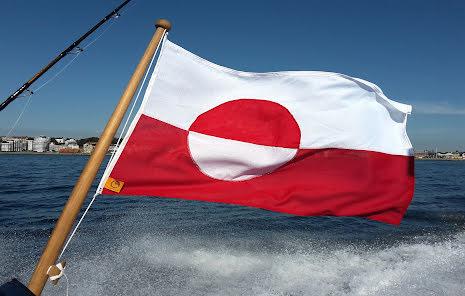 Grönlands Flagga