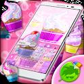 Sweet Cupcake Keyboard icon