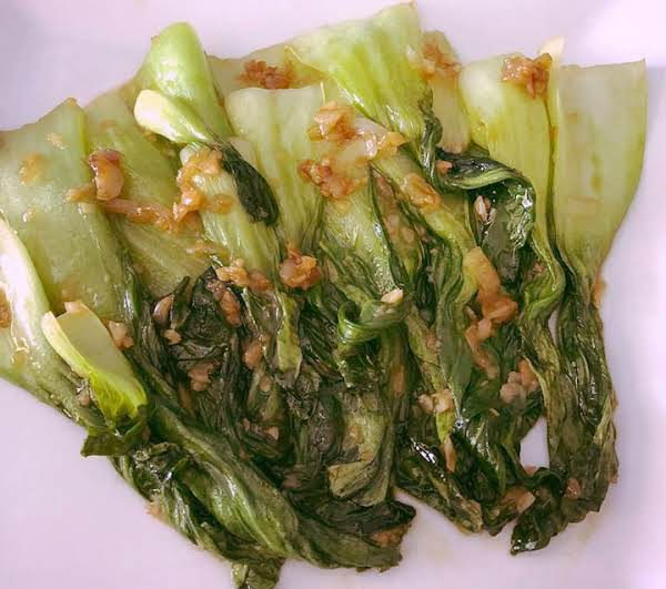 Garlic And Oyster Sauce Baby Bok Choy Recipe