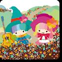 キキ&ララ×ホラグチカヨ オズの魔法使い ライブ壁紙 icon