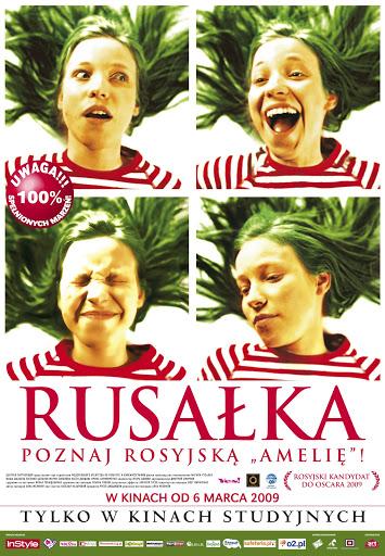 Polski plakat filmu 'Rusałka'