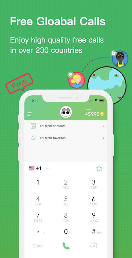 TouchCall - Free Quality Call Global & Call India Mod Apk