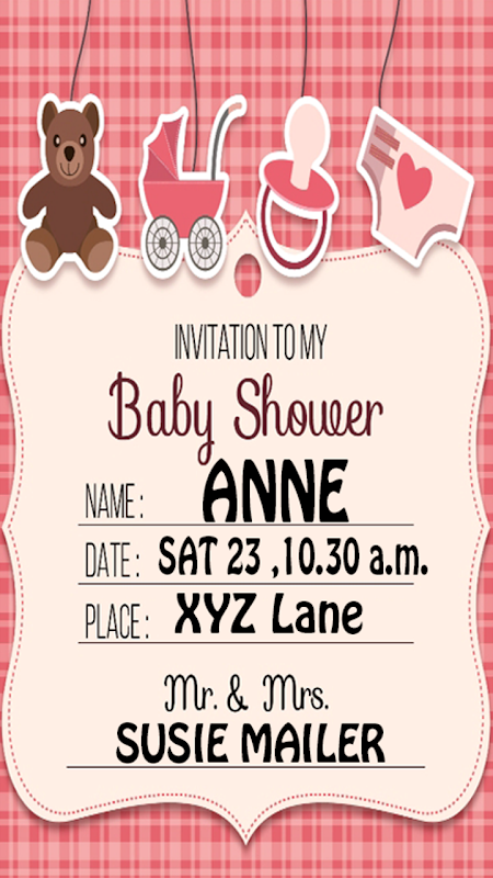 Baby shower invitation maker apk 10009 download free social apk baby shower invitation maker apk stopboris Image collections