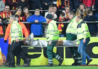 Yannick Thoelen (KV Mechelen) staat zes tot acht maanden aan de kant