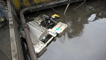 Mini Skimmer System under Water
