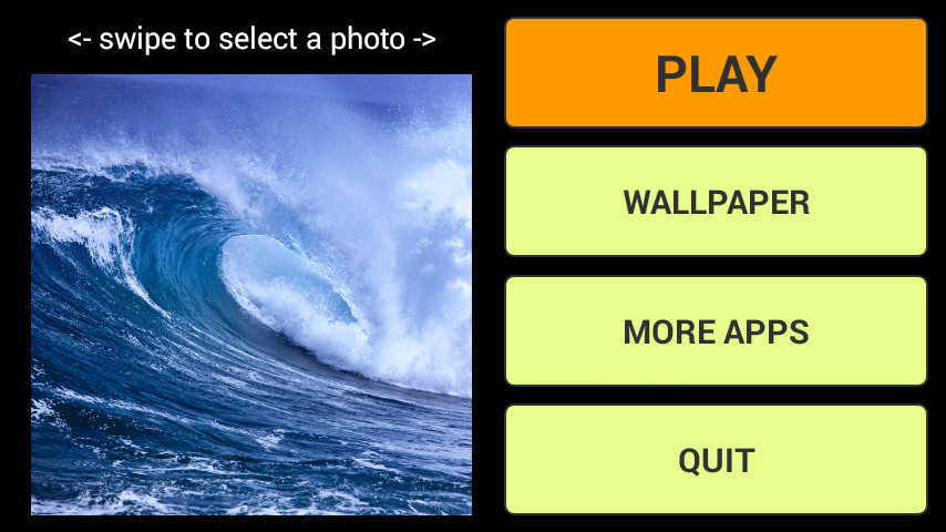 android Waves LWP + Puzzle Screenshot 0