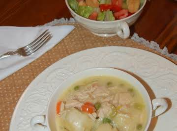 Chicken 'n Dumplin's Easy-Style!