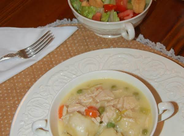Chicken 'n Dumplin's Easy-style! Recipe