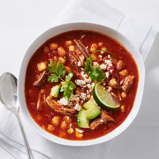 Slow-cooker Pork and Hominy Posole Soup
