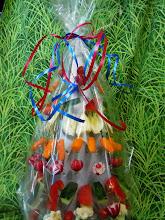 Photo: arbre à légumes et ses sauces
