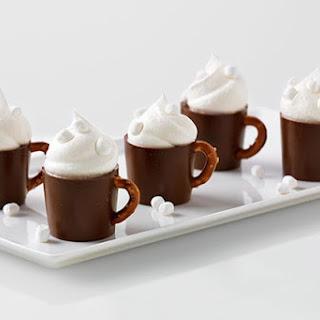 Reduced-Sugar Hot Cocoa Pudding Mugs