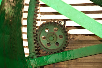 Photo: Gears Salvaged From A 1946 H-D Knucklehead