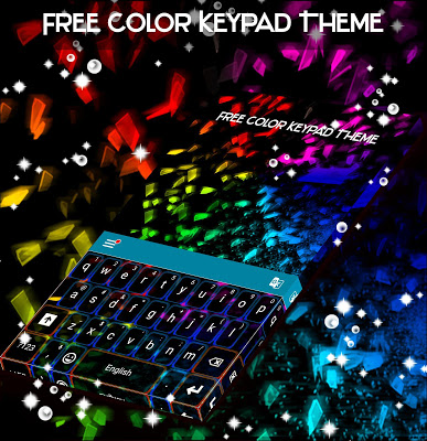 Free Color Keypad Theme - screenshot